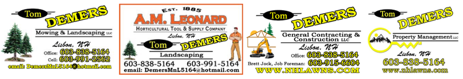 Tom Demers Mowing & Landscaping, LLC